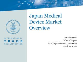 Japan Medical Device Market Overview