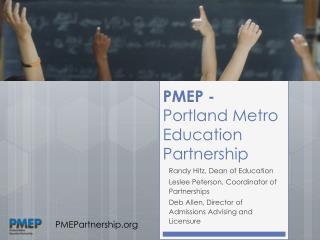 PMEP - Portland Metro Education Partnership