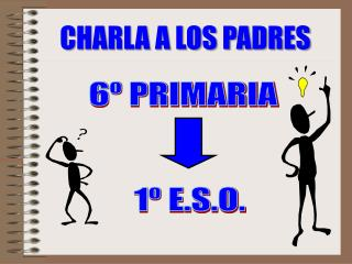 6º PRIMARIA 1º E.S.O.