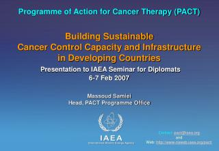 Programme of Action for Cancer Therapy (PACT)