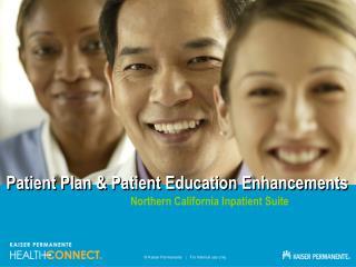 Patient Plan & Patient Education Enhancements