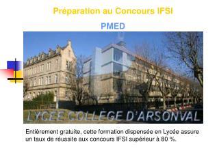 Préparation au Concours IFSI PMED