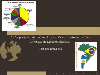 A Cooperação Internacional para o Desenvolvimento como Condição de Sustentabilidade .