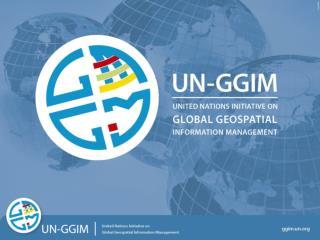 UN-GGIM: User CASE STUDY