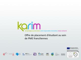 Offre de placement d'étudiant au sein de PME franciliennes