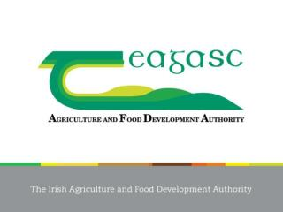 Role of Teagasc as a Partner in Economic Development