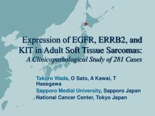 Takuro Wada , O Sato, A Kawai, T Hasegawa Sapporo Medial University , Sapporo Japan