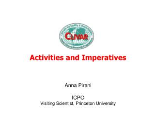 Activities and Imperatives