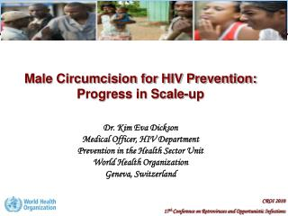 Male Circumcision for HIV Prevention:  Progress in Scale-up