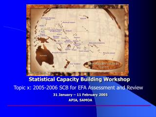Statistical Capacity Building Workshop