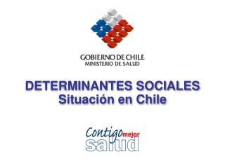 DETERMINANTES SOCIALES Situación en Chile