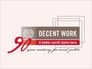 O Pacto Mundial para o Emprego : Uma resposta à crise