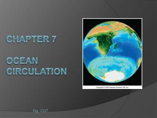 CHAPTER 7   Ocean Circulation