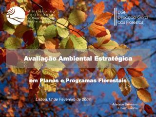 Avaliação Ambiental Estratégica