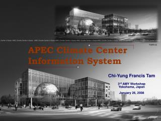 APEC Climate Center Information System