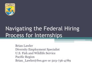 Navigating the Federal Hiring Process for Internships