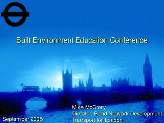 Built Environment Education Conference