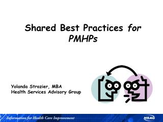 Shared Best Practices  for PMHPs