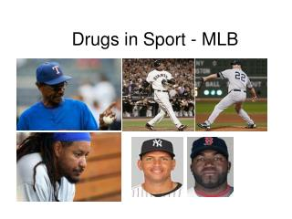 Drugs in Sport - MLB