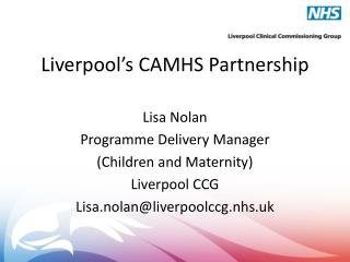 Liverpool's CAMHS Partnership