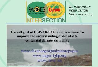 clivar/organization/pages/ pages-igbp clivar