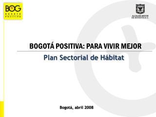 Plan Sectorial de Hábitat