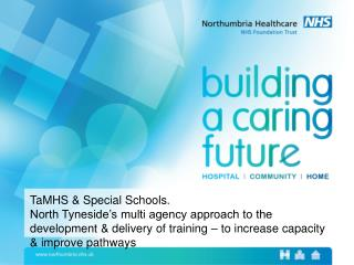 TaMHS & Special Schools.