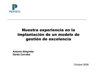 Nuestra experiencia en la implantaci n de un modelo de gesti n de excelencia