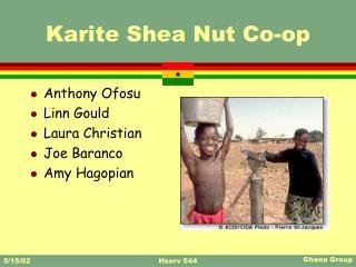 Karite Shea Nut Co-op