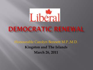 Democratic  REnewal