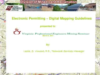 Electronic Permitting – Digital Mapping Guidelines