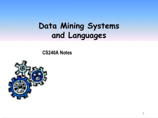 Data Mining Systems and Languages