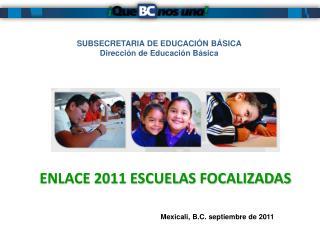 SUBSECRETARIA DE EDUCACIÓN BÁSICA Dirección de Educación Básica