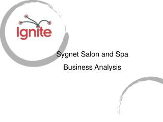 Sygnet Salon and Spa  Business Analysis