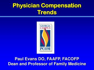 Physician Compensation Trends