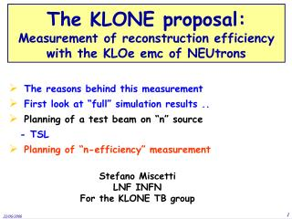 """The reasons behind this measurement  First look at """"full"""" simulation results .."""