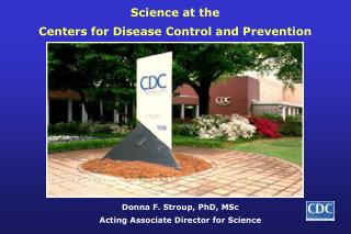Science at the Centers for Disease Control and Prevention