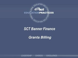 SCT Banner Finance
