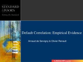 Default Correlation: Empirical Evidence