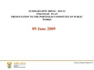 Compiled by Strategic Management Unit