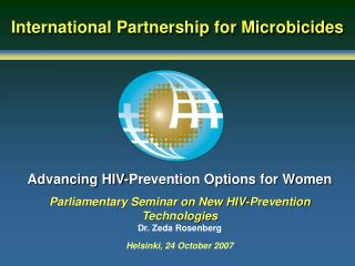 Advancing HIV-Prevention Options for Women