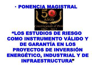PONENCIA MAGISTRAL