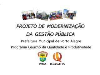 Reunião Trimestral - PGQP