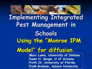Implementing Integrated Pest Management in Schools