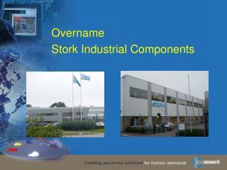Overname  Stork Industrial Components