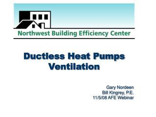 Ductless Heat Pumps Ventilation