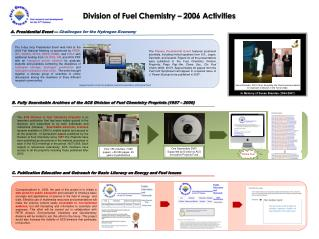 Division of Fuel Chemistry – 2006 Activities