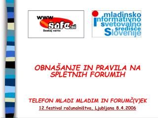 MISSS – nacionalna organizacija na področju informiranja in svetovanja za mlade v Sloveniji
