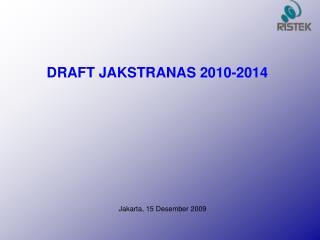 Jakarta, 15 Desember 2009