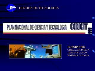 GESTION DE TECNOLOGIA